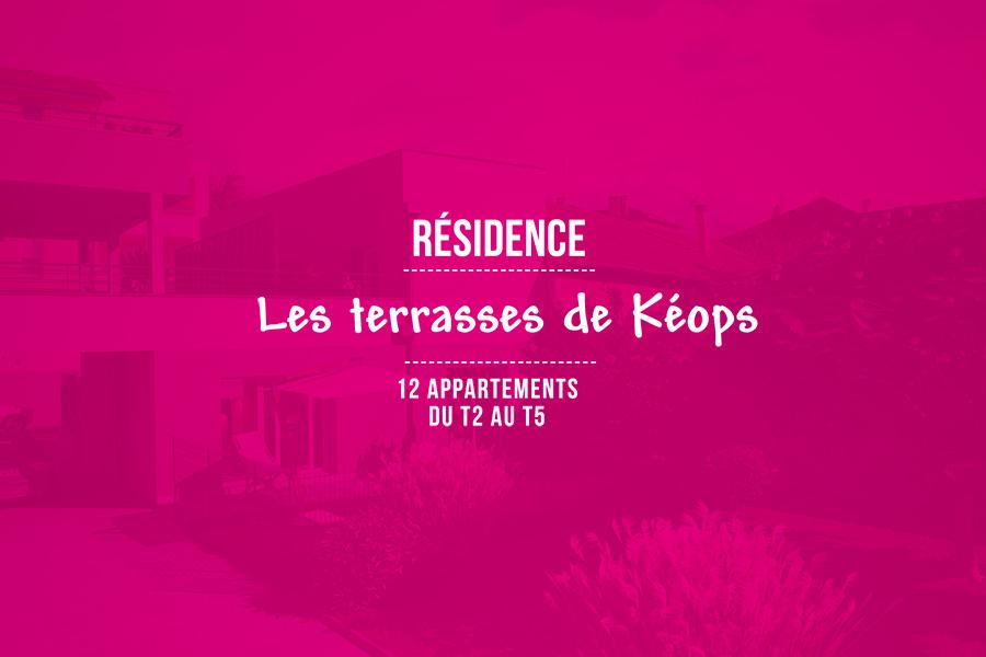 """Programme """"Les Terrasses de Kéops"""""""
