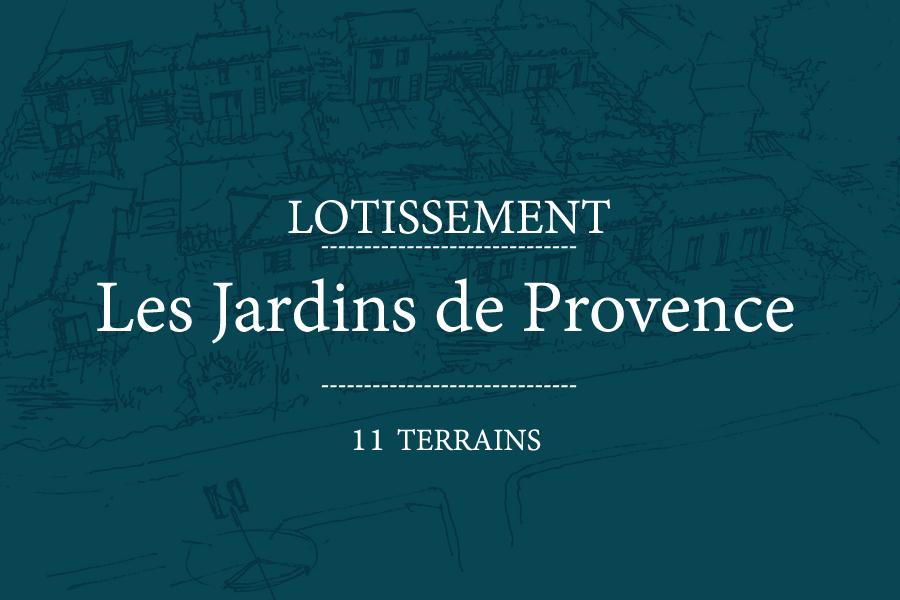 "Lotissement ""Les Jardins de Provence"""
